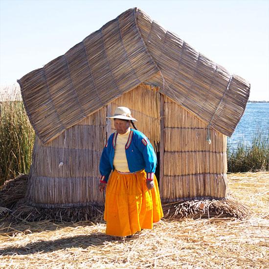 Lago Titicaca Puno, Peru